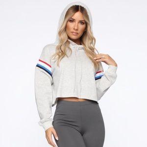 Fashion Nova Tops - Fashionnova cropped hoodie